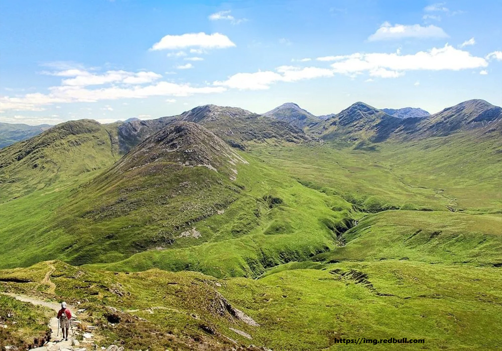 Ireland's Mountains Offer Stunning Vistas!